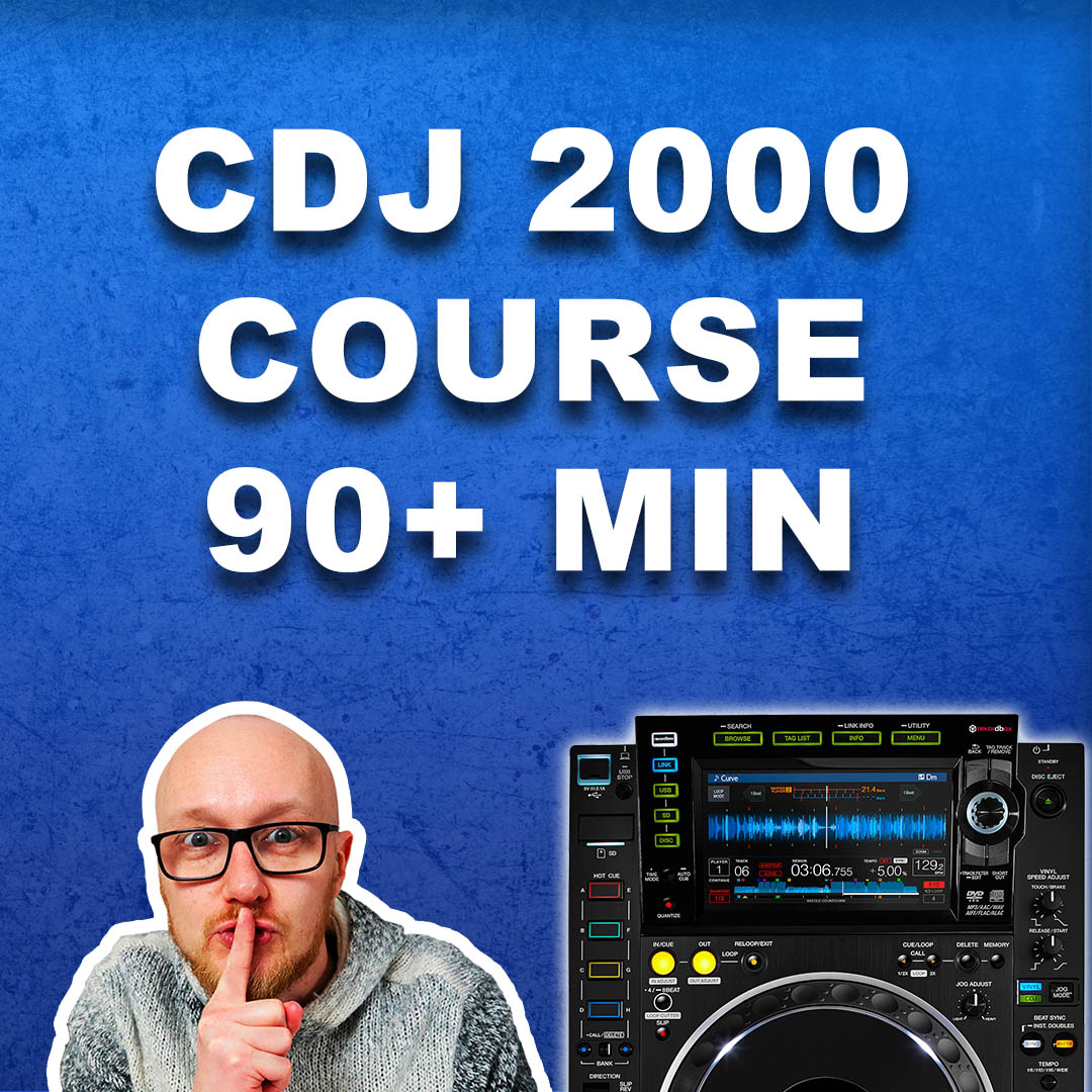 Learn Pioneer CDJ 2000 with this DJ course