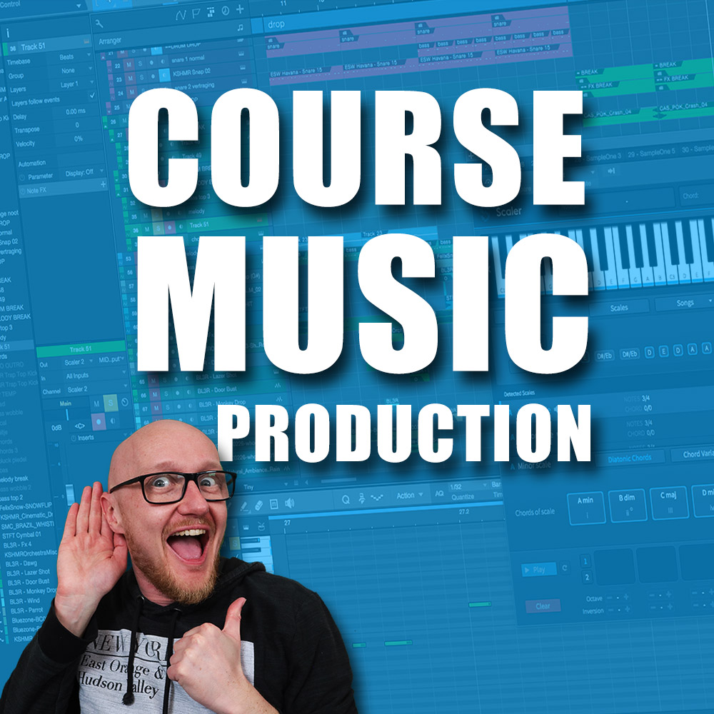 Music Production for beginner in Studio One course