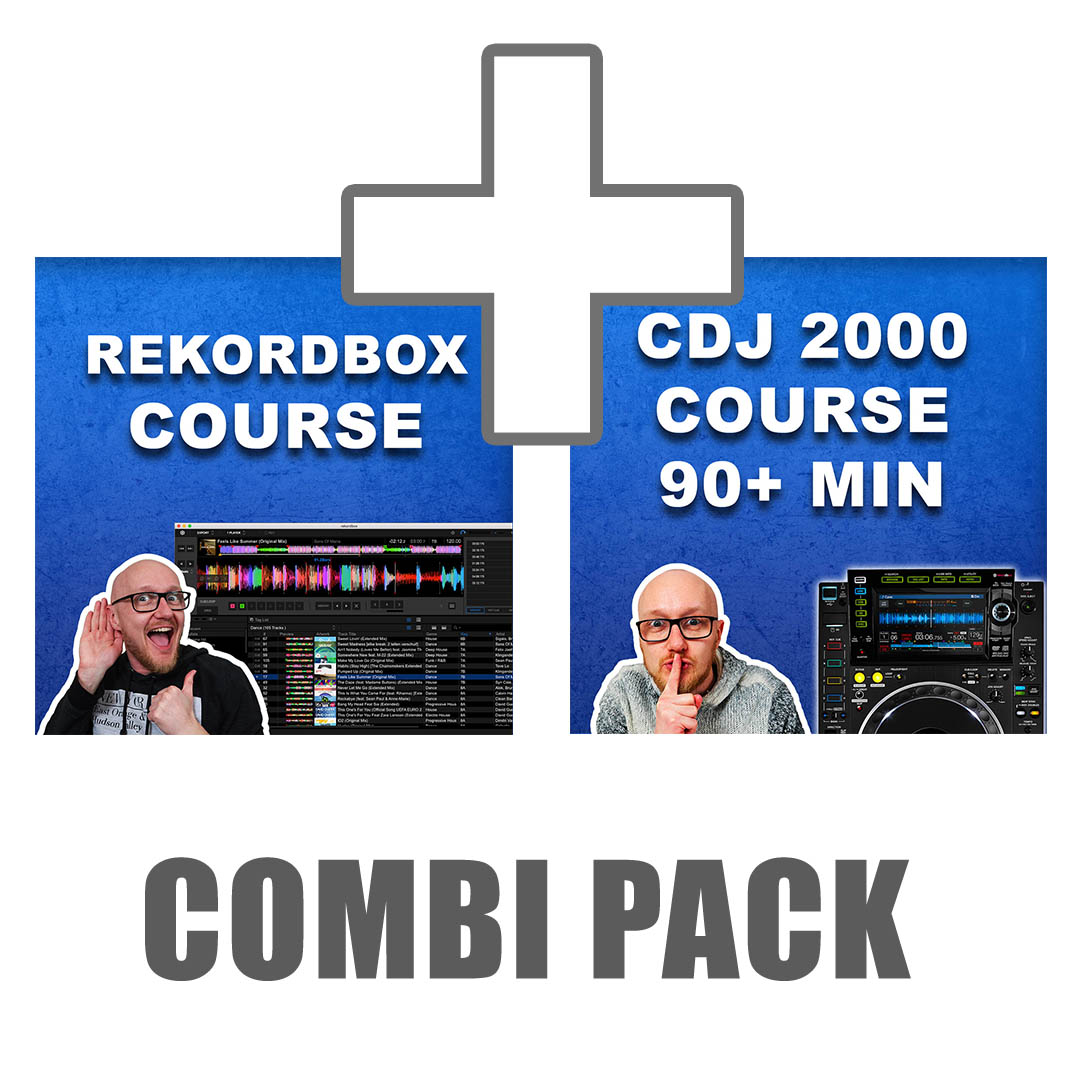 Rekordbox + CDJ 2000 NXS 2 course combination