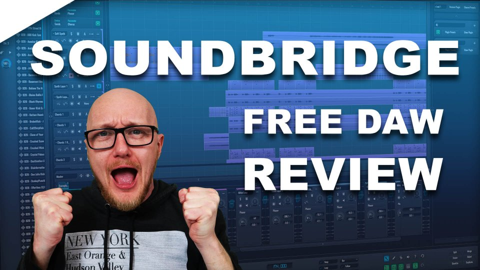 Soundbridge best free DAW?