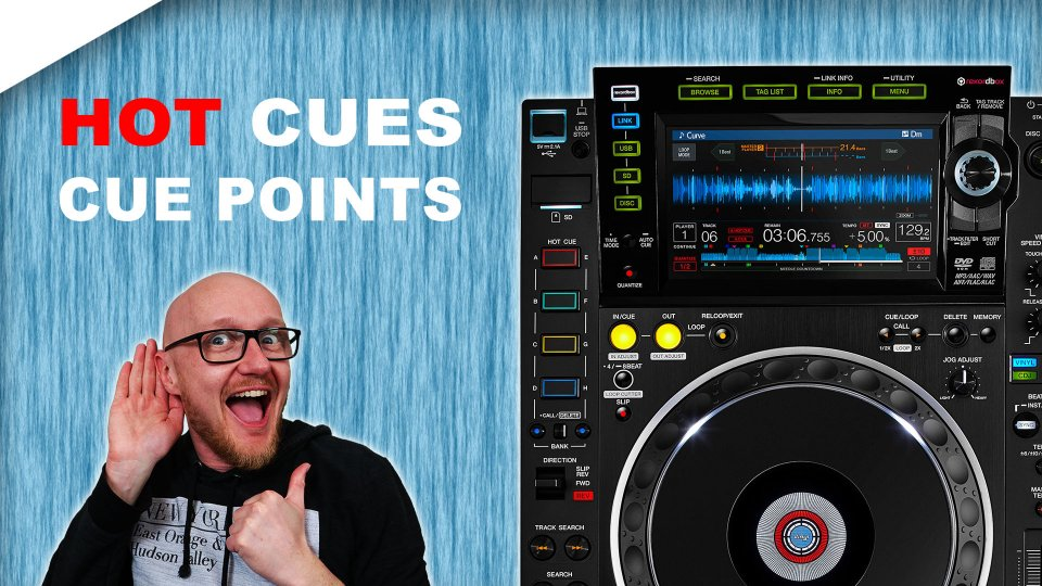 CDJ 2000 Nexus 2 hot cue & cue point tutorial