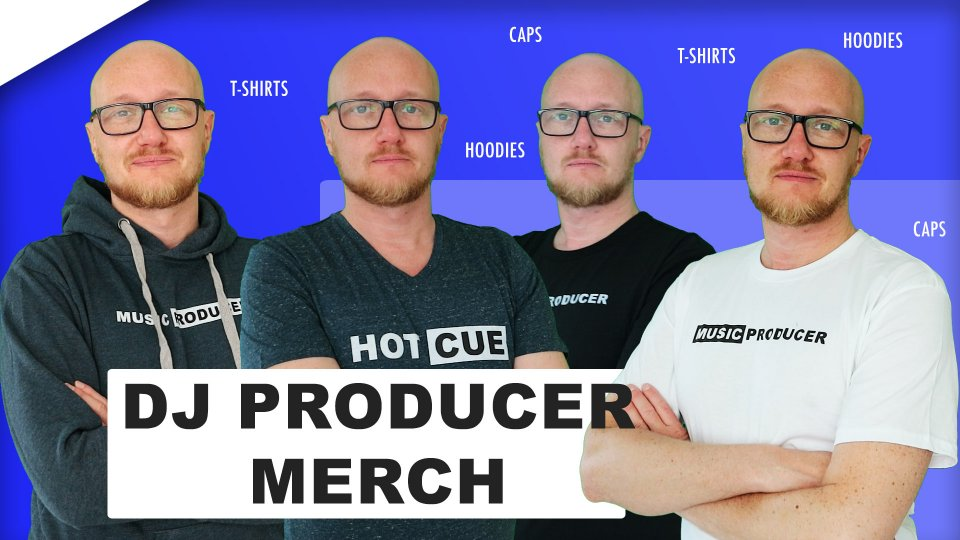Exclusive DJ and music producer merch
