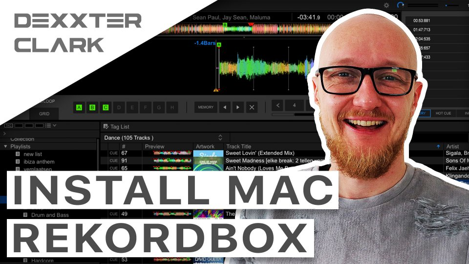 How to install Rekordbox on a mac? Tutorial
