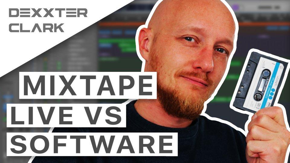 How to make a dj mixtape - live vs software