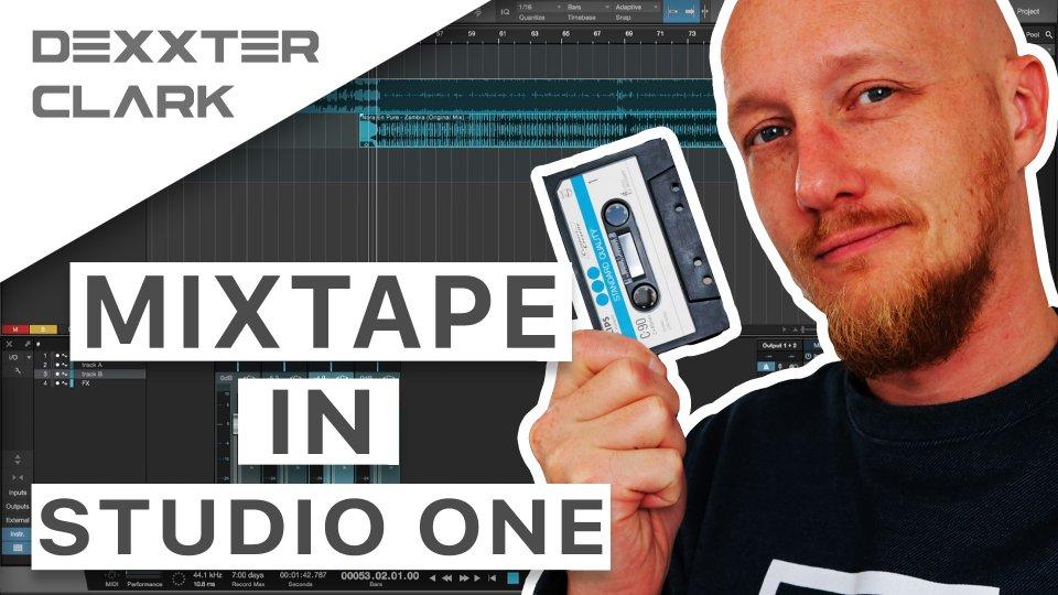 How to make a mixtape in Presonus Studio One