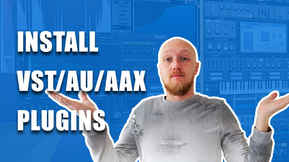 How to install VST, AU and AAX plugins: Mac