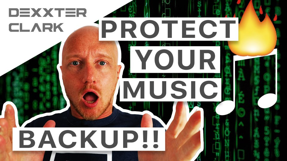 music producer - how to backup your computer