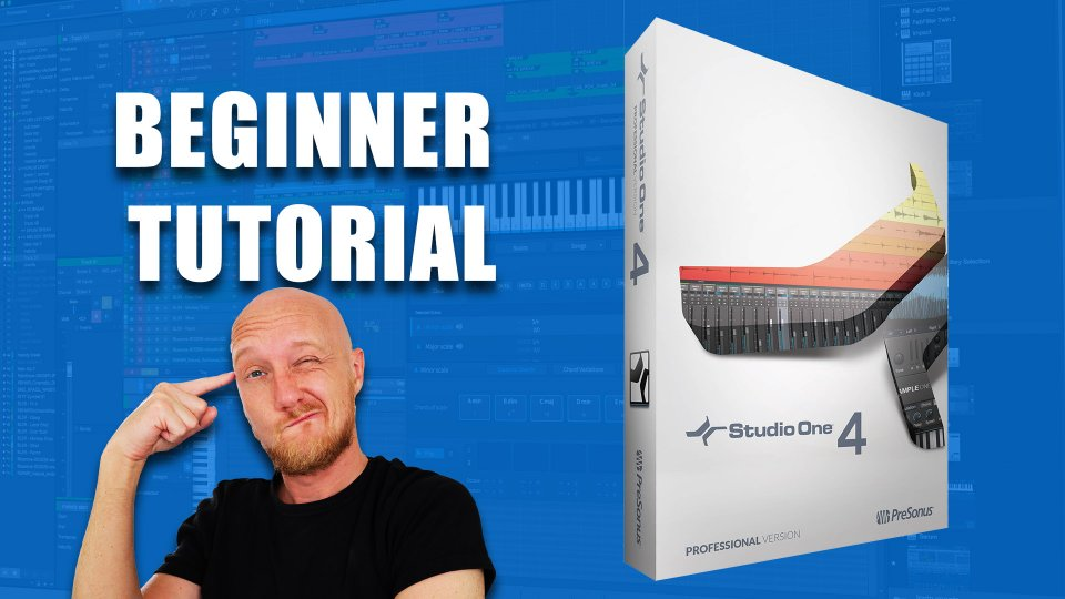 ULTIMATE Studio One 4 tutorial for beginners