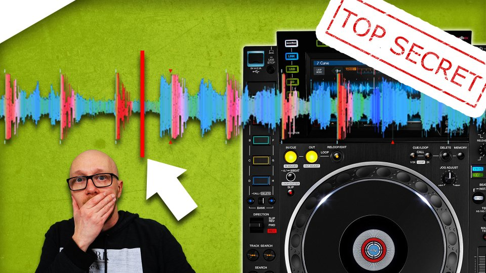 The insider secrets of the Waveform and Needle Search on the CDJ 2000 nexus 2 - tutorial