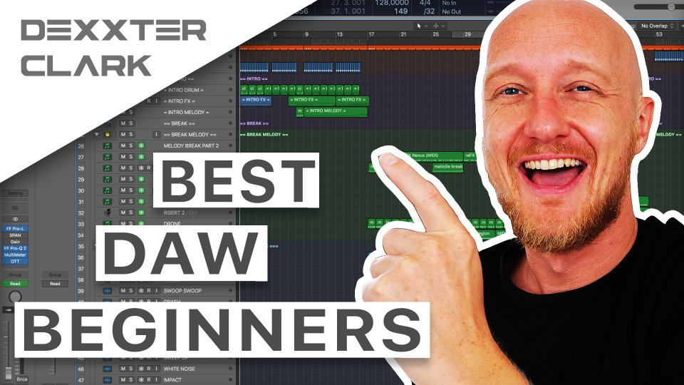 What is the best DAW? The best software for music production (beginners)