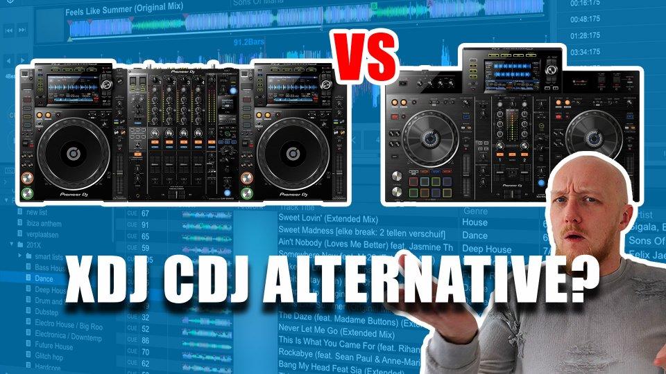 XDJ RX2 vs CDJ 2000 NXS 2
