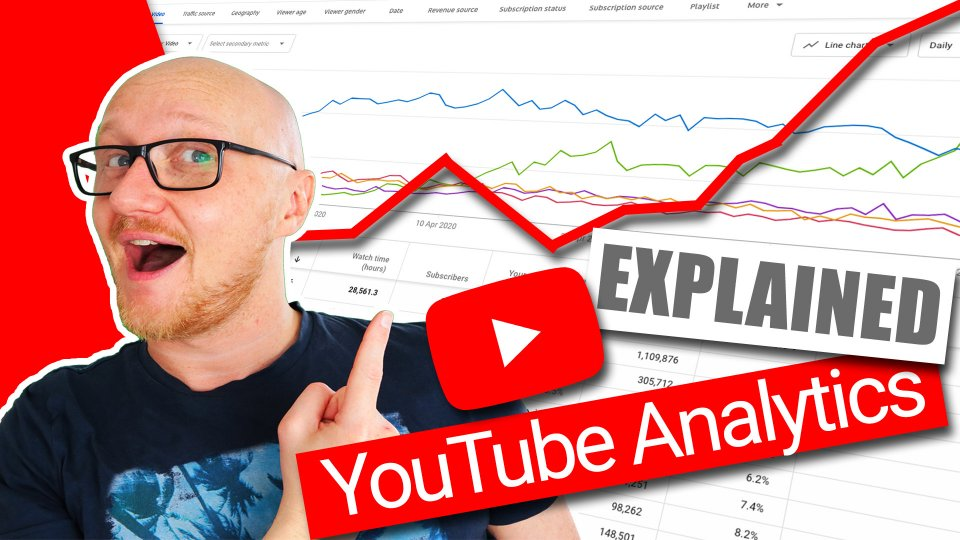 YouTube Analytics EXPLAINED 2020 - OVERVIEW tutorial
